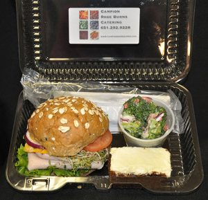 Box lunch catering Twin cities