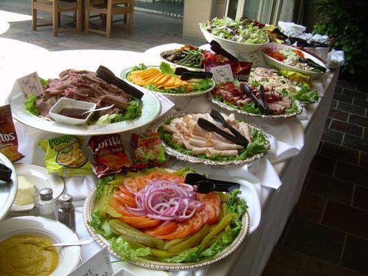 Deli buffet